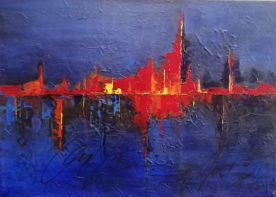 """""""Red city"""""""